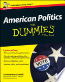 American Politics For Dummies   UK
