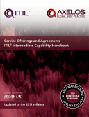 Service Offerings and Agreements ITIL 2011 Intermediate Capability Handbook  single Copy