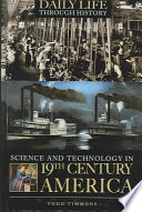 Science and Technology in Nineteenth century America