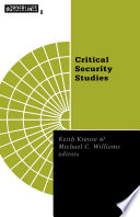 Critical Security Studies  Concepts and Cases