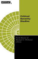 Critical Security Studies: Concepts and Cases