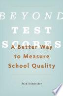 Beyond Test Scores Book PDF