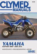 Yamaha Raptor 700r 2006 2016