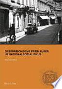 Österreichische Freimaurer im Nationalsozialismus
