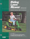 Riding Lawn Mower Service Manual
