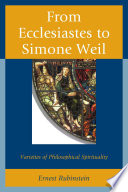 From Ecclesiastes to Simone Weil