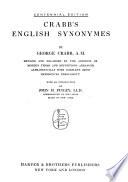 Crabb s English Synonymes