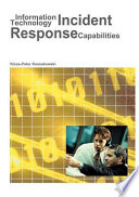 Information Technology Incident Response Capabilities