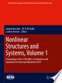 Nonlinear Structures And Systems Volume 1