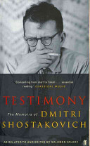 Testimony : soviet russia - but shostakovich, fearing reprisals, stipulated...