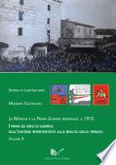 Le Marche e la Prima Guerra Mondiale il 1915  II