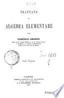 Trattato di algebra elementare