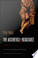 The Aesthetics Of Resistance Volume I