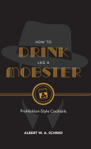 How to Drink Like a Mobster Book