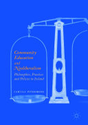 Community Education and Neoliberalism Book