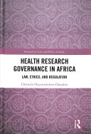 Health Research Governance in Africa