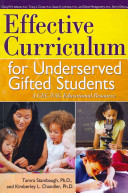 Effective Curriculum for Underserved Gifted Students