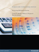 Accounting Information Systems Pearson New International Edition