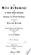 Die heilige Schrift  nach M  Luthers Uebers   mit Einleitungen und erkl  renden Anmerkungen  herausg  durch O  von Gerlach