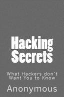 Hacking Secrets