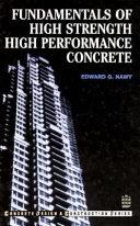 Fundamentals Of High Strength High Performance Concrete
