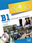 ECHO B 1.1 ELEVE+PORTFOLIO+CD/MP3 2010 SANFR190: