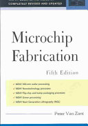 Microchip Fabrication  5th Ed