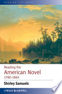 Reading the American Novel 1780   1865