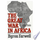 The Great War in Africa  1914 1918