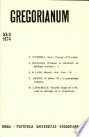 Gregorianum: Vol. 55, No. 3 : ...