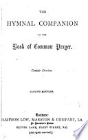 The Hymnal Companion To The Book Of Common Prayer Annotated Ed By E H Bickersteth