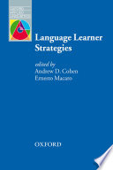 Language Learner Strategies   Oxford Applied Linguistics