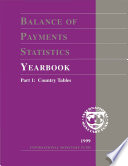 Balance of Payments Statistics Yearbook  1999