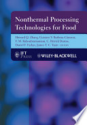 Nonthermal Processing Technologies For Food
