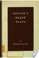 Goethe s Major Plays