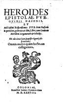 download ebook heroides epistolae, pvb. ovidii nasonis. et auli sabini responsiones, pvb pdf epub