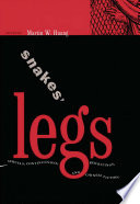 Snakes' Legs Literary Phenomenon In Traditional China Xushu As