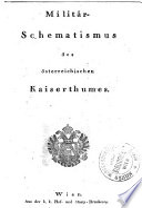 Militär-Schematismus des österreichischen Kaiserthums