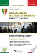 Concorso Accademia militare di Modena   Esercito Italiano   Preparazione alle selezioni