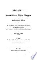 Vom Ende der Hussitenstürme bis in die Gegenwart 1449 - 1848