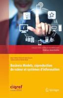 illustration du livre Business Models, coproduction de valeur et systèmes d'information