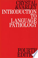 Introduction to Language Pathology