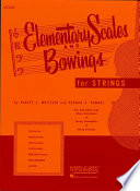 Elementary Scales and Bowings   Violin  Music Instruction