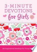 3-Minute Devotions for Girls