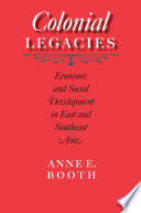 Colonial Legacies Both Former Japanese Colonies Achieved Rapid Growth