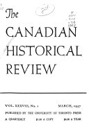 The Canadian Historical Review