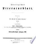 Allgemeine Kirchen-Zeitung, zugleich ein Archiv für die neueste Geschichte und Statistik der christlichen Kirche ... Begründet von Dr. Ernst Zimmermann, Fortgesetzt von Dr. Karl Gottlieb Bretschneider ... und Dr. Karl Zimmermann