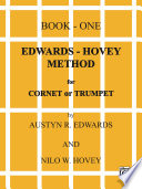 Edwards Hovey Method for Cornet or Trumpet  Book 1