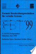 Formale Beschreibungstechniken für verteilte Systeme