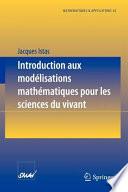 illustration Introduction aux modélisations mathématiques pour les sciences du vivant